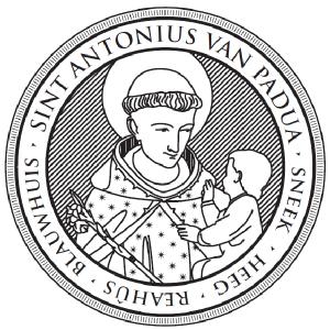 Sint Antonius van Padua - stempel