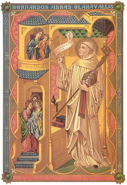 Feestdag H Bernardus Van Clairvaux Kerkleraar Sint