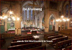 Nieuw: het Kruisweg boekje door pastoor Van der Weide