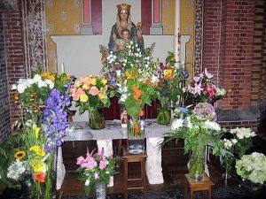 Kleine plechtigheid in Sint Vituskerk 15 augustus 2017
