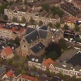 Luchtfoto 2014 St Martinuskerk SnekerWeerman Vierkant