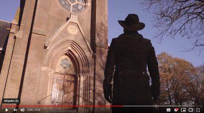 Clip 'Breathe' van zanger Joe Emanuel opgenomen in de Sint Vituskerk van Blauwhuis